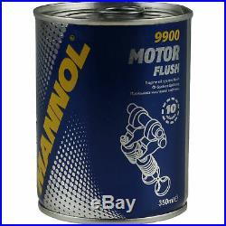 10x Original Mahle / Knecht Filtre Oc 217/6+10x Sct Moteur Flush Rinçage de
