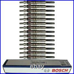 14X Original BOSCH Bougies de Préchauffage 0 250 212 009 Glow Bouchon