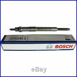 16X Original Bosch Bougies de Préchauffage 0 250 202 048 Attache Brillante