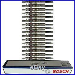 16X Original Bosch Bougies de Préchauffage 0 250 212 009 Glow Bouchon