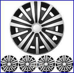16 Pouces 4x Premium Design Enjoliveurs, Décoration pour Roues Kit Spinel