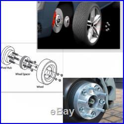4pcs 20mm 5x114.3 Elargisseurs de voie M12x1.25 66.1mm Pour Nissan Altima Maxima