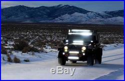 50'' 288W LED Phare Barre Rampe Projecteur de Travail Lumière Pour SUV Philips