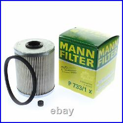 6L MANNOL 5W-30 Break LL+MANN-FILTER pour Suzuki Grand Vitara II 1.9 DDiS AWD