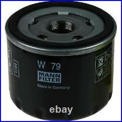 6L MANNOL 5W-30 Break Ll + Mann Filtre Luft Suzuki Grand Vitara II 1.9 Ddis