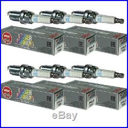 6X NGK Brun Laser Iridium Premium Bougie 7658 Type IFR6J11 Allumage Bougie