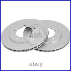 A. B. S. 2x Disques de Frein Ventilé Recouvert 17006