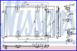A/C Air Condenseur Radiateur Nouveau OE Remplacement Suzuki Grand Vitara I M Gt