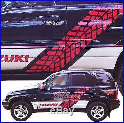 Adhésifs tout terrain 4x4 Kit autocollant Racing Suzuki Grand Vitara fiancé. Dx+