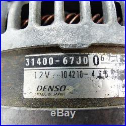 Alternateur 31400-67j00 Générateur 140a Suzuki Grand Vitara II Jb
