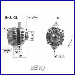 Alternateur Suzuki Jimny 1.3 16v 60kw 82cv 02/2001 Eb788g V106 31400-81a00