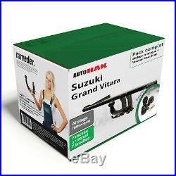 Attelage Suzuki Grand Vitara 2005-2010 Amovible + Faisceau uni 7 broches KIT TOP