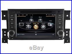 Autoradio 2-din GPS Android WIFI DVD écran tactile 7 USB SD Suzuki Grand Vitara