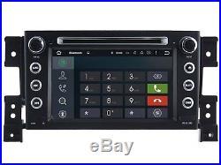 Autoradio Android 5.1 GPS Waze DVD écran tactile WIFI USB Suzuki Grand Vitara