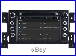 Autoradio DVD Gps Navi Android 7.1 Dab+ Bt Pour Suzuki Grand Vitara 05-12 H5779