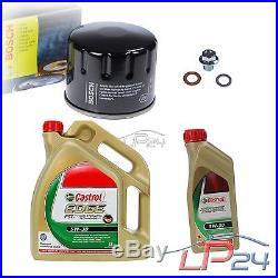 Bosch Filtre + 6 L Castrol Edge Fst 5w-30 Suzuki Grand Vitara 2 1.9 Ddis 05-15