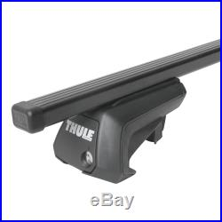 Barres de toit acier Thule SquareBar pour Suzuki Grand Vitara I type FT/GT/HT