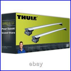 Barres de toit pour Suzuki Grand Vitara II type JT/TE/TD Thule WingBar EVO TOP