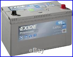 Batterie Exide EA954 12v 95ah 800A 306x173x222mm varta G7