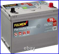 Batterie Fulmen Formula Xtreme 75Ah/630A (FA754)
