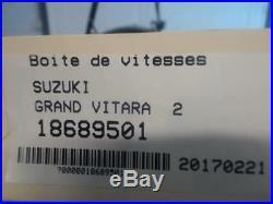 Boite de vitesses SUZUKI GRAND VITARA Diesel /R18689501