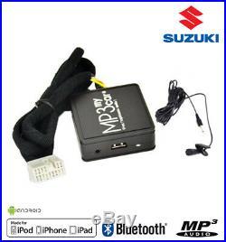 Boîtier Bluetooth Auxiliaire MP3 pour autoradios d'origine Suzuki