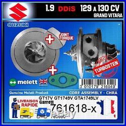 CHRA Melett Suzuki Grand Vitara 1.9 DDiS 129 130 Turbo 760680 761618 GT1749V