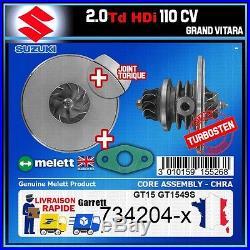 CHRA Melett Suzuki Grand Vitara 2.0 HDi 110 Turbo 734204 GT1549S