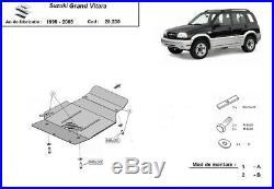 Cache Protection Sous Moteur Métallique Suzuki Grand Vitara (1999-2005)