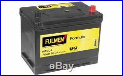 FULMEN Batterie de démarrage 70ah / 540A Pour NISSAN X-TRAIL MURANO FB704