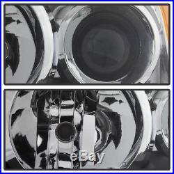 For 06-08 SUZUKI GRAND VITARA LH/RH CHROME PHARES PROJECTEUR LAMPES ASSEMBLAGE