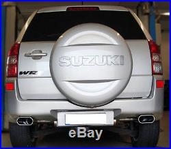 Fox échappement Sport Suzuki Grand Vitara type JT à partir de année fab. 05 2.4L