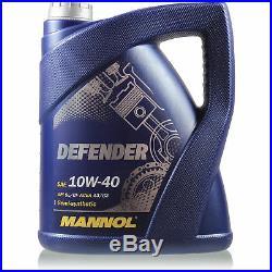 Huile Moteur 5L Mannol Defender 10W-40 + Mann Suzuki Grand Vitara I  ft Gt