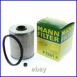Huile moteur 6L MANNOL Dieseli 5W-30 + Mann Pour Suzuki Grand Vitara II, De JT
