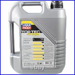 Inspection Set 7 L LIQUI MOLY Top Tec 4100 5W-40 + Mann filtre 9795130