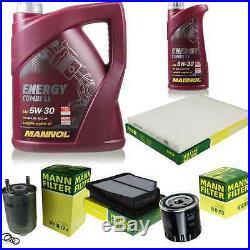 Inspection Set Mannol 6 L Energy Combi Ll 5W-30 + Mann Filtre 10922328