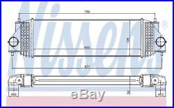Intercooler (échangeur d'air) pour Suzuki Grand Vitara 1.9 DDiS NISSENS