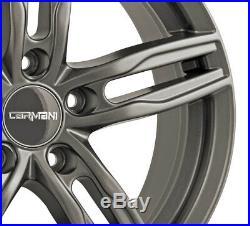 Jantes Carmani 14 Paul 6.5x16 ET38 5x114 HYP pour Suzuki Kizashi Swift SX4 Vitar