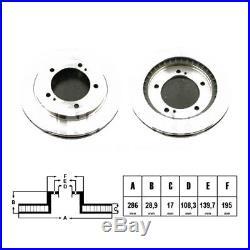 Kit Disques De Frein Pd424np 0986479486 09914210 17164 1815205212 205212 315212