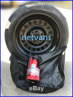 Kit roue de secours (galette) 17 pour SUZUKI GRAN VITARA avec cric cléf et sac