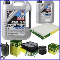 Liqui Moly 6L Toptec 4600 5W-40 Huile + Filtre pour Suzuki Grand Vitara II JT
