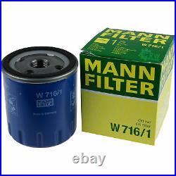 MANN-FILTER Inspection Set Pour Suzuki Grand Vitara I FT Gt 2.0 HDI