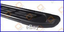 Marche-pieds Suzuki Grand Vitara 5p 06-14 Sapphire V2 Black 173cm EN STOCK