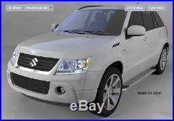 Marche-pieds latéraux Suzuki Grand Vitara 3 portes 2006, Pearl 163cm EN STOCK