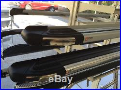 Marche-pieds latéraux Suzuki Grand Vitara 5p 06-14 Brillant Black 173cm EN STOCK