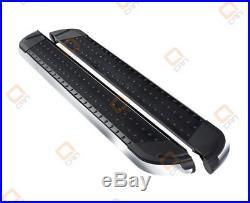 Marche-pieds latéraux Suzuki Grand Vitara 5p 06-14 Pearl Black 173cm