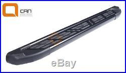 Marche-pieds latéraux Suzuki Grand Vitara 5p 06-14 Sapphire V2 Black