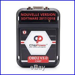 OBD2 Boitier Additionnel Suzuki Grand Vitara II 1.6 120CV Essence Chip Box Ver. 3