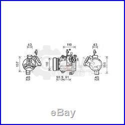 PV5 Compresseur Climatisation Compresseur D'Air Suzuki Grand Vitara II JT