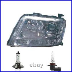 Phare Halogène Droite H7/HB3 Pour Suzuki Grand Vitara II Inclus Lampes